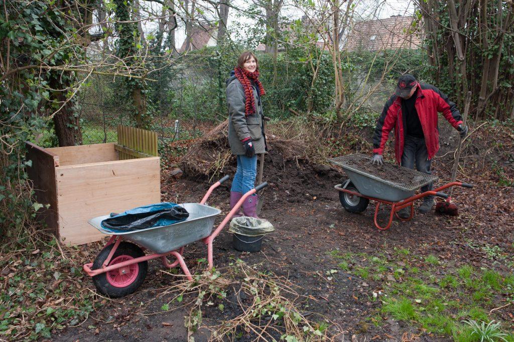 erster Kompost